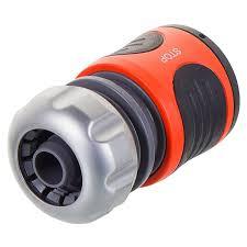 <b>Коннектор</b> для шланга быстросъёмный с автостопом <b>Gardena</b> ...