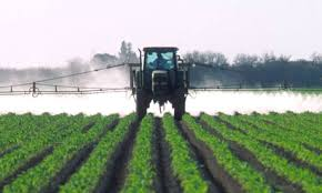 Pesticides Sprayed On Crops