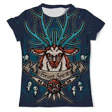 <b>Printio футболка с полной</b> запечаткой для мальчиков forest spirit ...