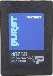 480 ГБ SSD <b>диск Patriot</b> Memory Burst (PBU480GS25SSDR ...