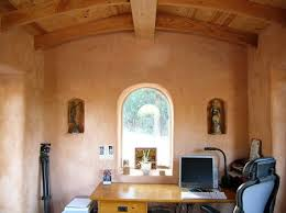 Straw Bale and Timber FrameInterior Sunset Cottage
