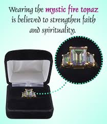 Meaning and Healing Properties of <b>Mystic Fire</b> Topaz