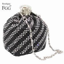 Boutique De FGG <b>Mini Fashion</b> Aluminum Day Clutches <b>Women</b> ...