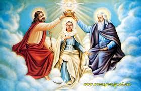 Resultado de imagem para Deus, Jesus e mãe de misericórdia
