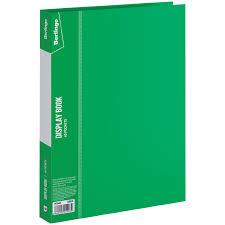 "<b>Папка</b> с 40 вкладышами <b>Berlingo</b> ""<b>Standard</b>"", 21мм, 600мкм, зеленая"