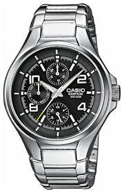 Купить Наручные <b>часы CASIO EF</b>-316D-<b>1A</b> по низкой цене с ...