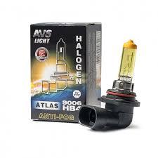 Галогенная <b>лампа AVS ATLAS</b> ANTI-FOG BOX желтый HB4 ...