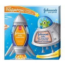 <b>Набор подарочный Johnson's</b> baby Веселые пузырьки шампунь ...