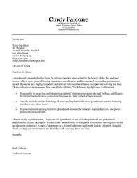 nurse practitioner cover letter example cover letter graduate school