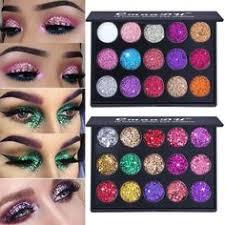 CmaaDu <b>15 colors</b> cosmetic <b>Glitter</b> Eye Shadow palette loose ...