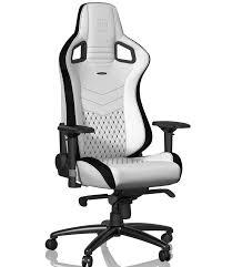купить <b>Игровое Кресло Noblechairs EPIC</b> (NBL-PU-WHT-001) PU ...