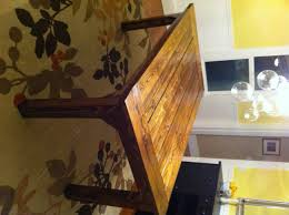Free Dining Room Table Plans Get The Free Plans For This Easy To Build Farmhouse Writing Table