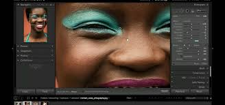how to enhance makeup color in a photo with adobe lightroom 3 software tips