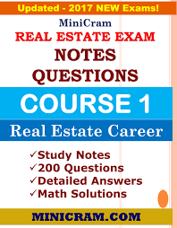 real estate exam course 1 notes questions minicram notes real estate exam course 1 notes questions