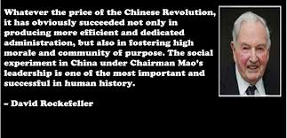 David Rockefeller, China, Free Trade, the WTO and the New World ...