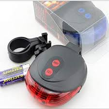 Amazon.com : LetsYoga <b>Bicycle Laser Taillights</b>, Round 5LED ...