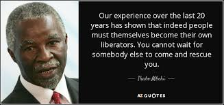 TOP 25 QUOTES BY THABO MBEKI | A-Z Quotes