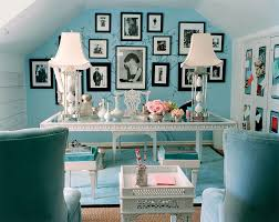 mary macdonald tiffany blue office chic office interior design