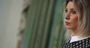 """Résultat de recherche d'images pour """"maria porte parole russe"""""""