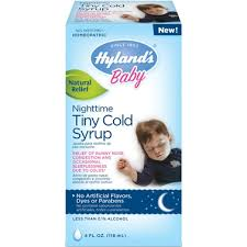 Hyland's <b>Baby</b> Nighttime <b>Tiny Cold Syrup</b> | Cold, Cough & Flu ...