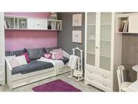 «Детская кровать Янина-3 с выкатным <b>спальным</b> местом ...