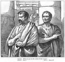 Act III Caesar Discussion Questions    What type of faulty logic does C R  Leslie illustration of Act    Scene    Petruchio upbraiding the tailor for making an ill fitting dress   From the Illustrated London News