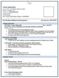 Fresher Resume Format Word   us resume format