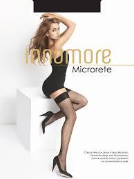 Купить Innamore Microrete, <b>чулки</b> цвета nero, miele, bianco ...