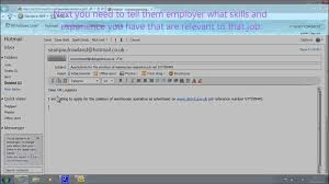 applying for jobs by email applying for jobs by email