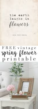 vintage decor clic: vintage spring flower printable this free vintage printable is an easy way to add a touch of spring to your home decor