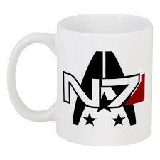 Кружка <b>Mass Effect</b> #2451099 в Москве – купить кружку с ...