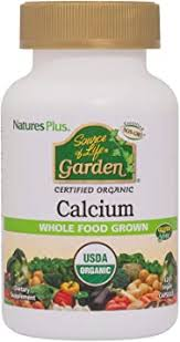 NaturesPlus <b>Source of Life</b> Garden Certified Organic <b>Calcium</b>
