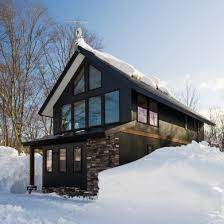 Ski Chalet   Warm and Cozy st Century Designs   Bob VilaFour Season Fantasy in Japan