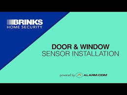 How to Install Brinks Home <b>Wireless Door</b>/<b>Window</b> Sensors-Video ...