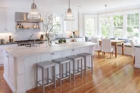 Wood Floor Kitchen Amazing White Kitchen Wood Floors White Kitchen With Wood Floors