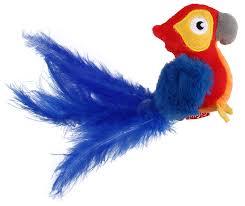 <b>Игрушка</b> для кошек <b>GiGwi Melody Chaser</b> Попугай со звуковым ...