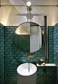 green bathroom screen shot:  were incorporated in the planning and fitout to create an italian themed restaurant and whiskey bar located in jakarta indonesiascreen shot at am