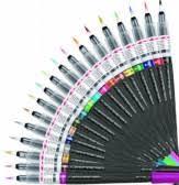 "<b>Кисть с краской</b> ""<b>Pentel</b>"" Color Brush в блистере цвет синий арт ..."