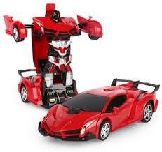 <b>Remote Control</b> Car Lamborghini one-button Transformers ...