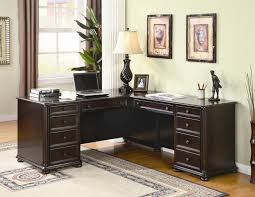 Image Of Corner Home Office Desks Design  E