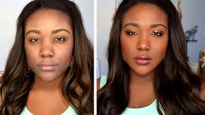 how to makeup tips for black women everyday makeup tutorial routine for dark skin