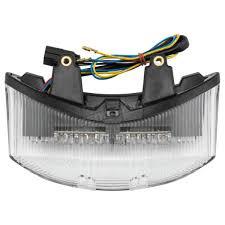 BikeMaster <b>Integrated</b> Taillight w/<b>Clear Lens</b> - TZT-194-INT Sport ...