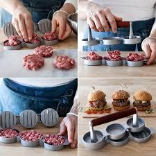 <b>Мини</b>-<b>пресс для гамбургеров</b> Home Made 22 см алюминий ...
