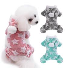 Cute <b>Dog Clothes</b> Jumpsuit Warm Winter Puppy Cat Coat Costume ...