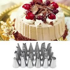 24 Pcs/set Sugar Craft <b>Ice Cream</b> Piping Tips <b>Cake Nozzle Cake</b> ...