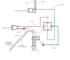 lost right rear reverse light tdiclub forums i did change some of my grounding wires to avoid splicing into the small brown grounding line on the rear light connector here is my updated schematic