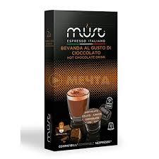 <b>Капсулы</b> для кофемашины Nespresso <b>MUST Cioccolato 10 шт</b>.