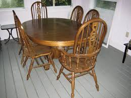Dining Room Furniture Oak Dining Room Table Chairs Lanerco
