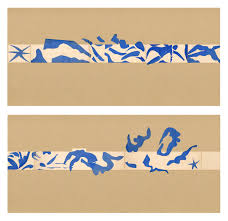 matisse s swimming pool goes on view for the first time in two henri matisse french 1869 1954 the swimming pool la piscine
