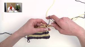 Knitting Help - Carrying <b>Colors</b> for <b>Stripes</b> - YouTube